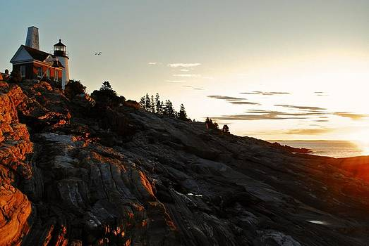 Pemaquid Lighthouse Sunrise by Gary Campbell