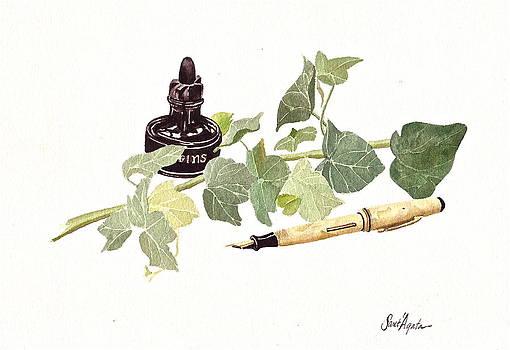 Frank SantAgata - Pen Ink and Ivy
