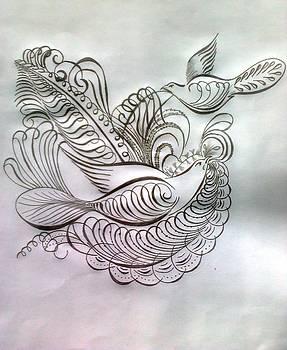 Pencil Drawing by Saji N m