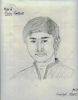 Pencil Sketch by Naveen Sai Vupputuri