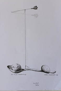 Pencil Study for Full of Wish by Mary C Farrenkopf