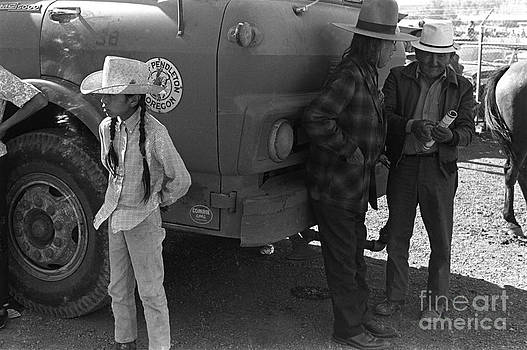 Pendleton Rodeo Oregon USA. 1971. by Homer Sykes