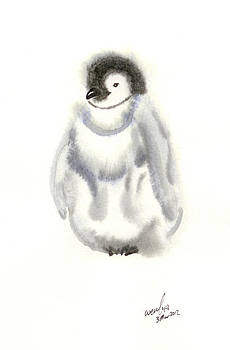Penguin Chick by Wenfei Tong