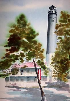 Pensacola Light by Richard Willows