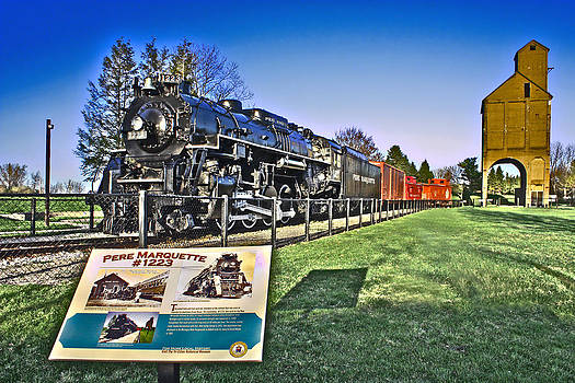 Pere Marquette Train by Jeramie Curtice