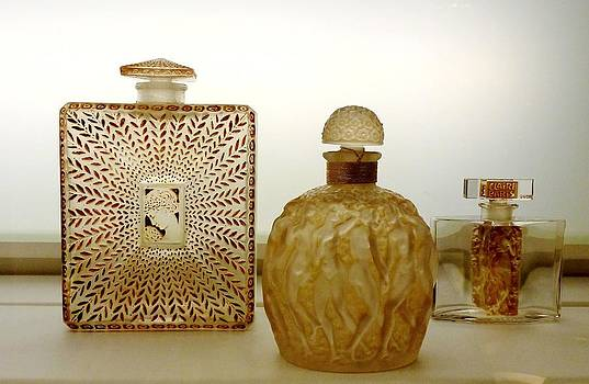 Perfume Bottles by Christine Burdine