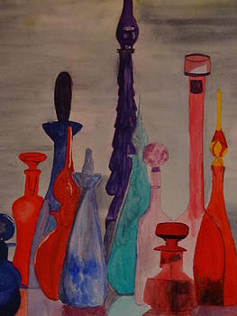 Nancy Fillip - Perfume Bottles