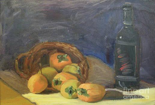 Persimos y Vino by Lilibeth Andre