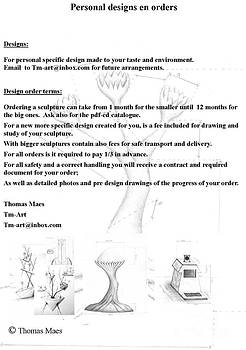 Thomas Maes - personal specific design made to your taste and environment