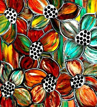 Petals and Polka Dots by Amy Carruth-Drum