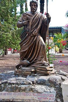 Peter at Capernaum by Cliff C Morris Jr