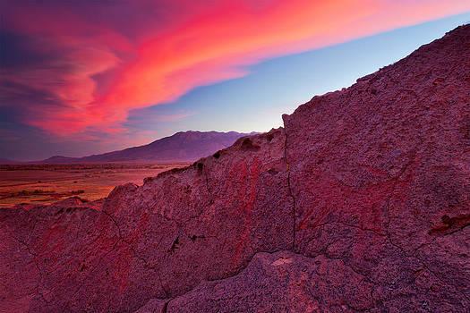 Petroglyph and Sierra Wave by Nolan Nitschke