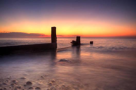 Pett Level Sunrise by Mark Leader
