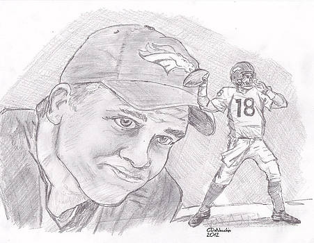 Chris  DelVecchio - Peyton Manning-