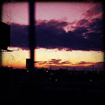 Philadelphia Sunset from i95 by Kim Kay