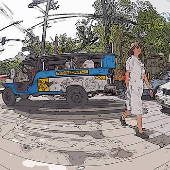 Philippines 1083 Nurse by Rolf Bertram