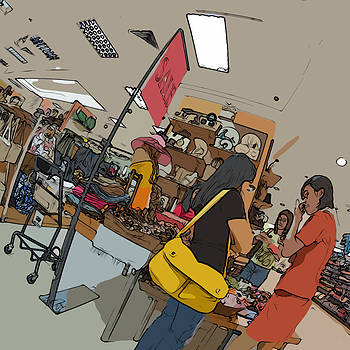 Philippines 4385 Department Store Sales Lady by Rolf Bertram