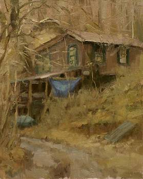 Phil's Cabin by Chuck Marshall