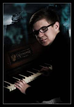 Pianist by Petr Nikl