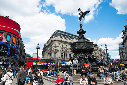 Piccadilly circus by Andrew  Michael