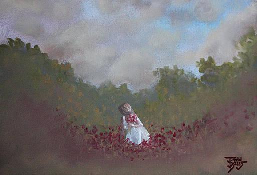Picking Flowers by Justin  Dobbs