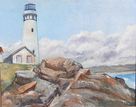 Pidgeon Point Lighthouse by Trudy Morris
