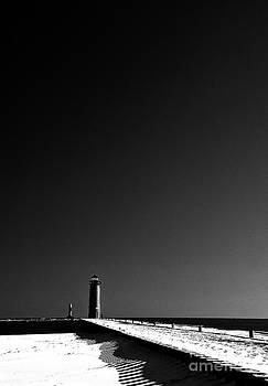 Pierhead Lighthouse by Maria Aiello