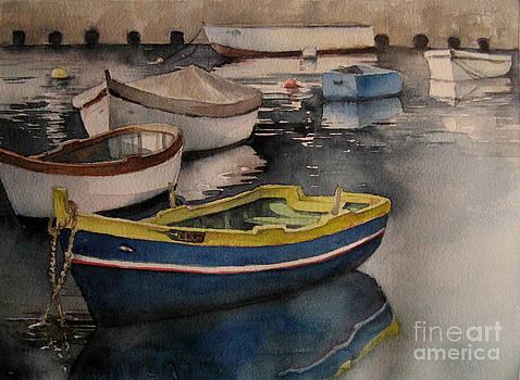 Pieta Boats by Diane Agius