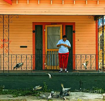 Kathleen K Parker - Pigeon Lady of New Orleans