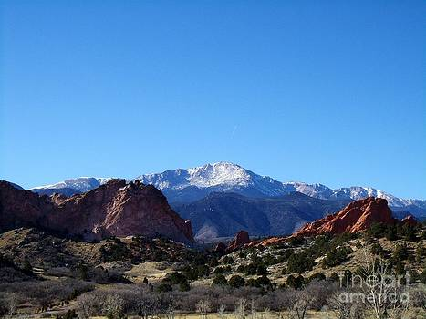 Pikes Peak and Garden of the Gods by Donna Parlow