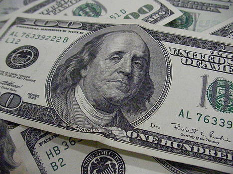 Piles of Money by Casino Artist