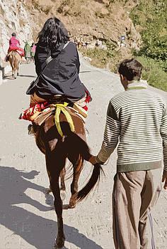 Kantilal Patel - Pilgrims on Horseback