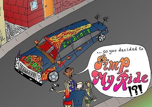 Pimp My Ride Secret Service Sex Scandal Cartoon by Yasha Harari