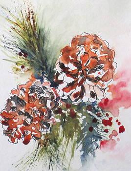 Pinecone Garland by Corynne Hilbert