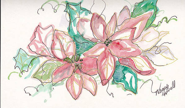 Pink And Green by Michele Hollister - for Nancy Asbell
