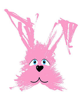 Pink Bunny by Pat Thompson