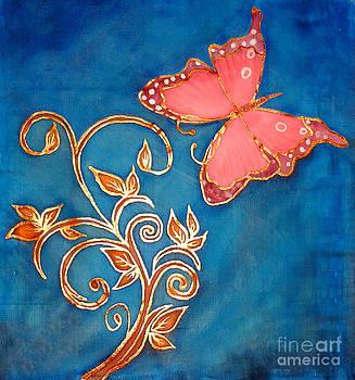 pink Butterfly by Dye n  Design