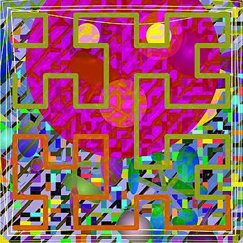 Dee Flouton - Pink Face Maze