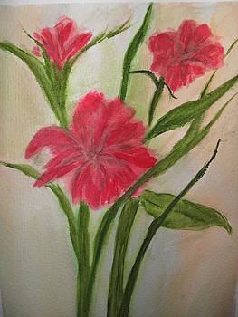 Pink Flower by Ginny Youngblood