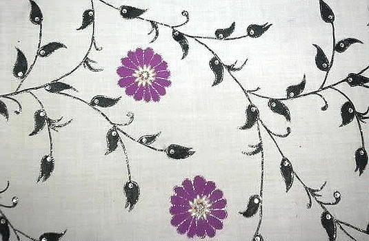 Pink flowers by Dye n  Design