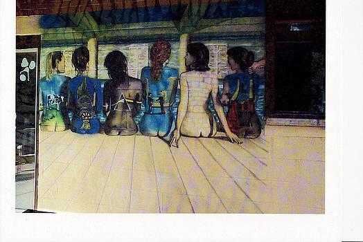 Pink Floyd mural by Al  Brown