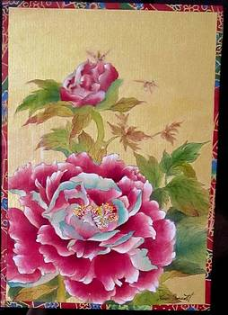 Pink Peonies by Hsiu  Norcott
