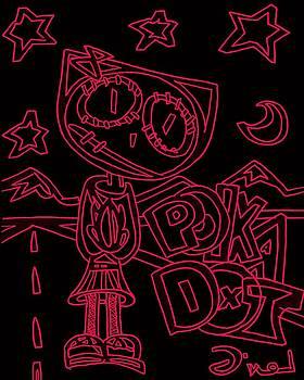 Pink Polka Dot by Levi Glassrock