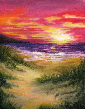 Pink Sunset by Colleen Ward