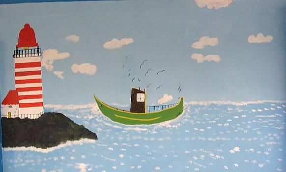Pintura Naif by Maria tereza