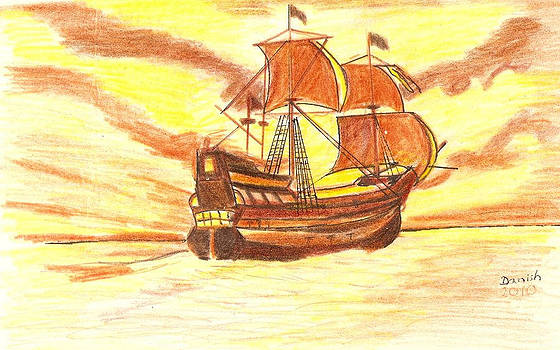 Pirates Ship  by Danish Anwer