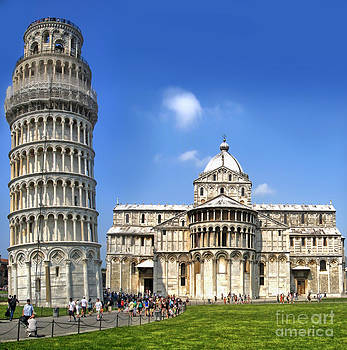 Gregory Dyer - Pisa Italy - Piazza dei Miracoli - 01