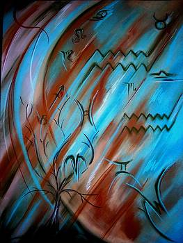 Planet in motion by Gay Watters