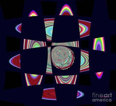 Planetary Rings Maze by Deborah Juodaitis