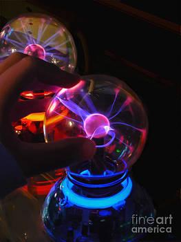 Plasma Globes by Jeff Breiman